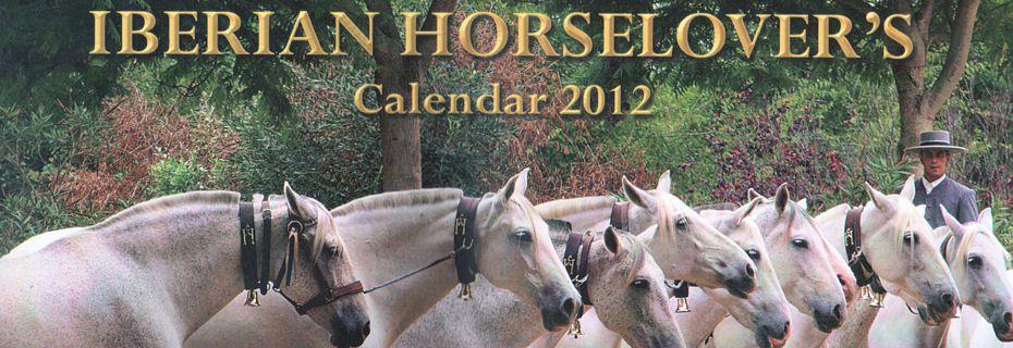Iberian Horse Lovers Calendar 2012